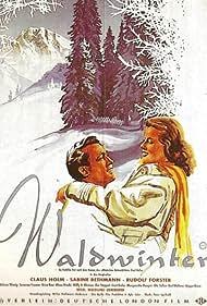 Sabine Bethmann and Claus Holm in Waldwinter (1956)