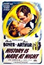 Jean Arthur and Charles Boyer in History Is Made at Night (1937)