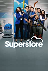 Mark McKinney, America Ferrera, Ben Feldman, Colton Dunn, Lauren Ash, Kaliko Kauahi, Nichole Sakura, and Nico Santos in Superstore (2015)