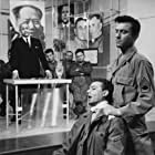 Laurence Harvey, Khigh Dhiegh, and Richard LePore in The Manchurian Candidate (1962)