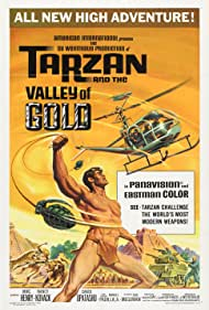 Tarzan and the Valley of Gold Poster - Movie Forum, Cast, Reviews