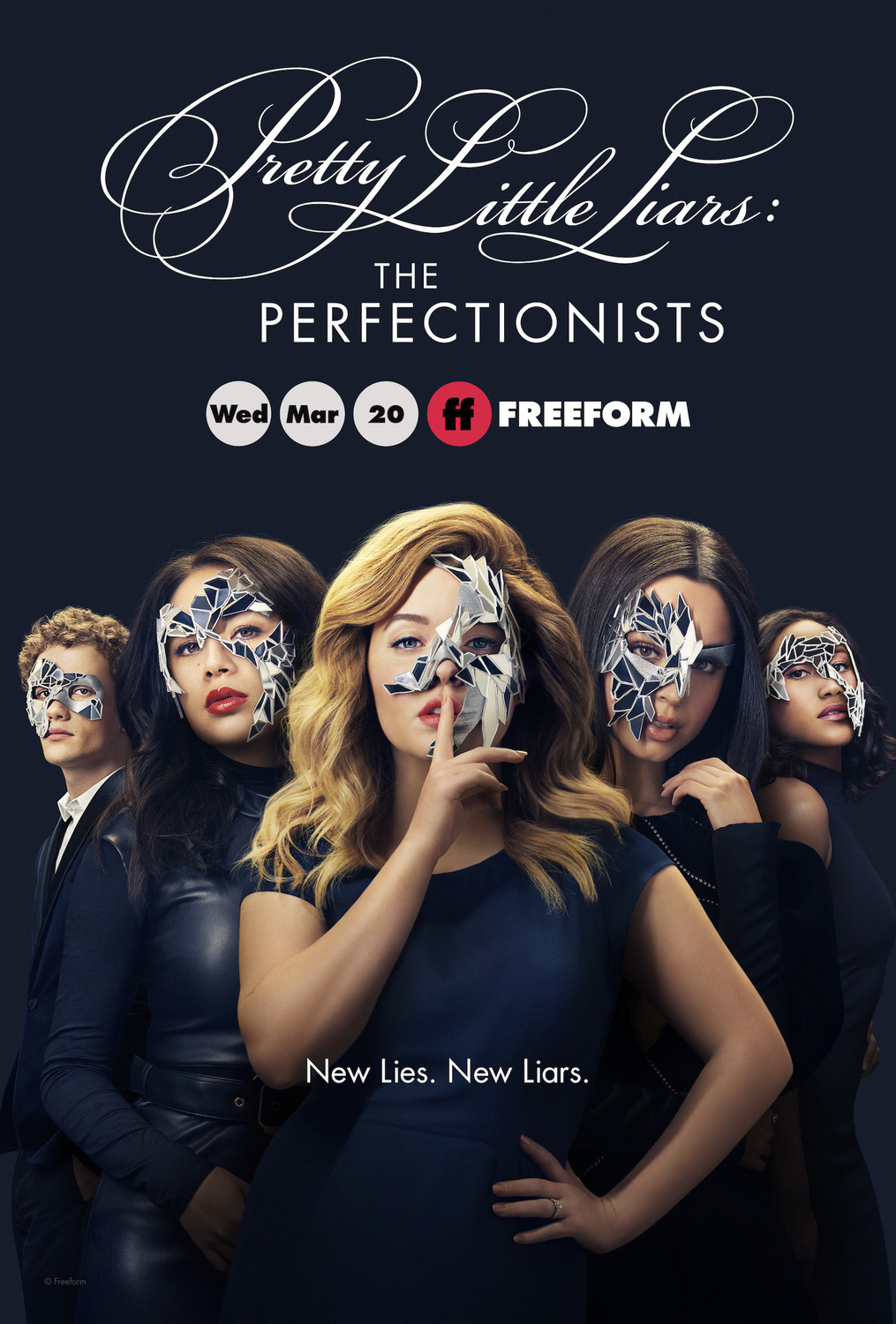 JAUNOSIOS MELAGĖS: PERFEKCIONISTĖS (1 Sezonas) /PRETTY LITTLE LIARS: THE PERFECTIONISTS