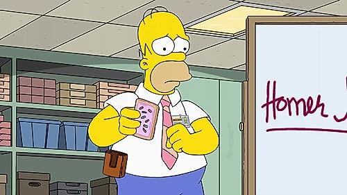 The Simpsons: Homer Meets Mike Wegman
