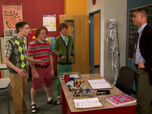 Eric Nenninger, Dylan Riley Snyder, Jimmy Bellinger, and Harry Boxley in Kickin' It (2011)