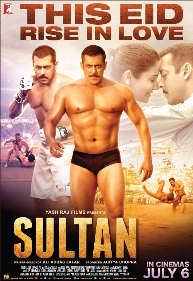 Sultan 2016 Hindi BluRay 720p 1.2GB AAC MKV