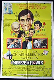 Squeeze a Flower Poster