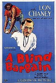 A Blind Bargain Poster