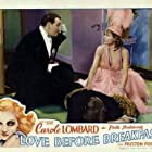 Carole Lombard and Preston Foster in Love Before Breakfast (1936)