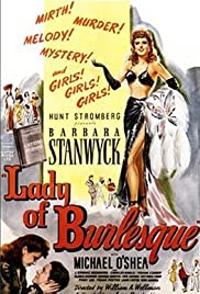 Lady of Burlesque Poster