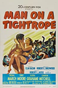 Direct mp4 movie downloads Man on a Tightrope by Elia Kazan [BluRay]
