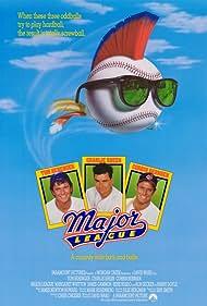 Charlie Sheen, Tom Berenger, and Corbin Bernsen in Major League (1989)