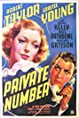 Private Number (1936) Poster