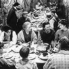 Ben Chaplin, Embeth Davidtz, Tom Bell, Gemma Jones, and James Purefoy in Feast of July (1995)