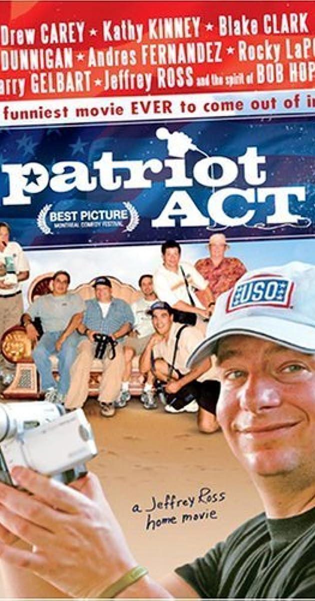 patriot act  a jeffrey ross home movie  2005
