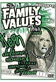 Family Values Tour 2006 Poster