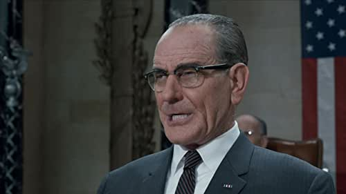 Lyndon B. Johnson (Bryan Cranston) becomes the President of the United States in the chaotic aftermath of JFK's assassination and spends his first year in office to quickly pass the Civil Rights Act.