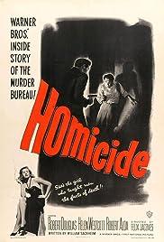 Homicide(1949) Poster - Movie Forum, Cast, Reviews