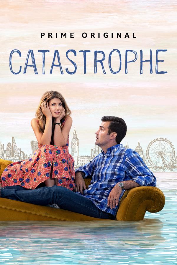Sharon Horgan and Rob Delaney in Catastrophe (2015)