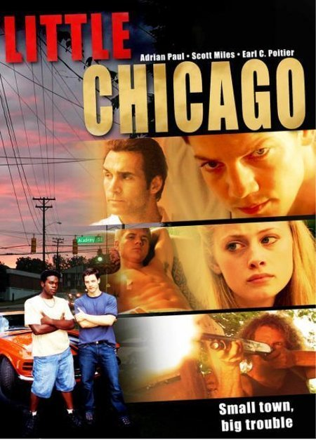 Adrian Paul, Scott Thomas, Earl Poitier, and Sarah Clements in Little Chicago (2005)