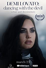 Demi Lovato: Dancing with the Devil Poster