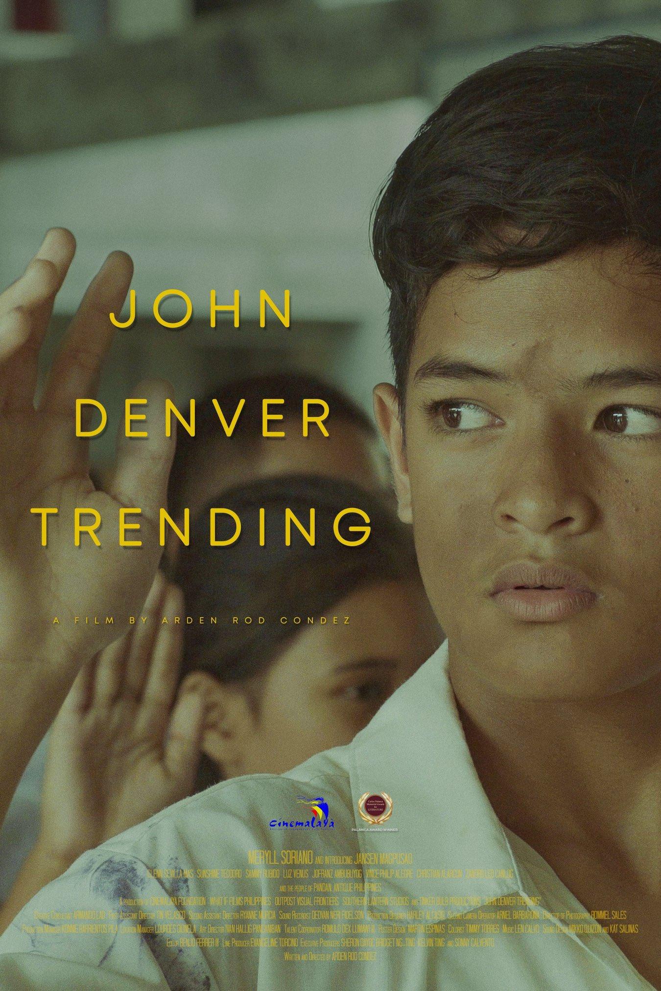 Jansen Magpusao in John Denver Trending (2019)