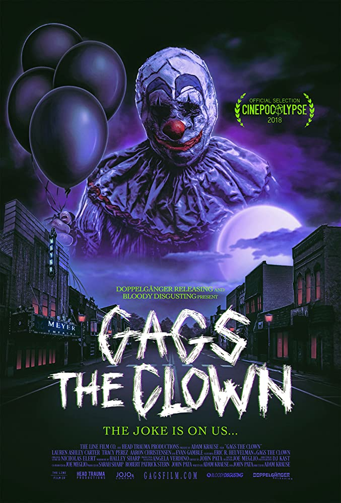 Gags The Clown 2018 English 720p HDRip 800MB ESubs