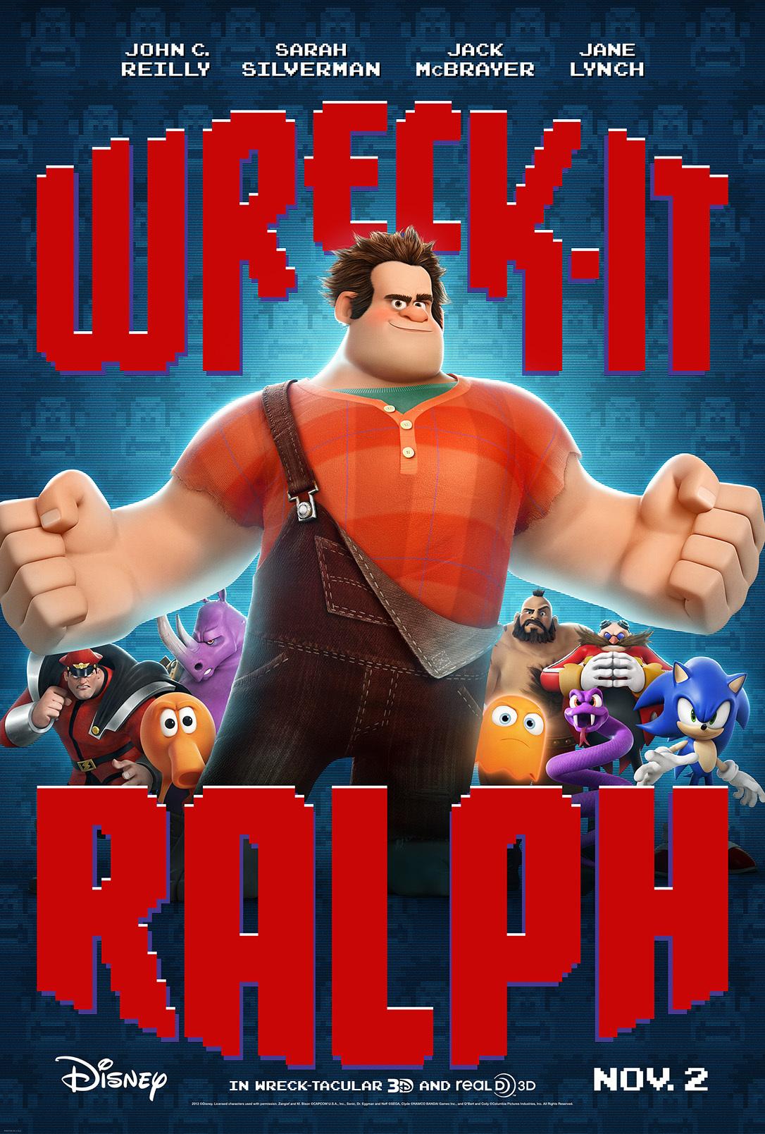 Wreck-It Ralph (2012) BluRay 480p, 720p & 1080p