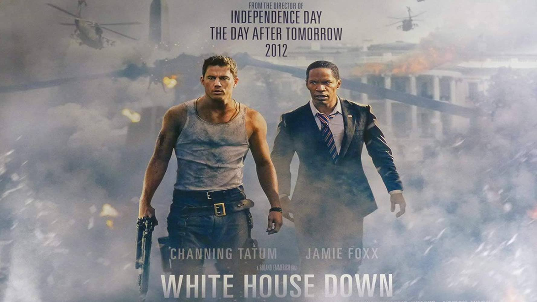 White House Down (2013) 1080p 720p BluRay Dual Audio [Hindi DD5.1 + English DD5.1] -Recmnd