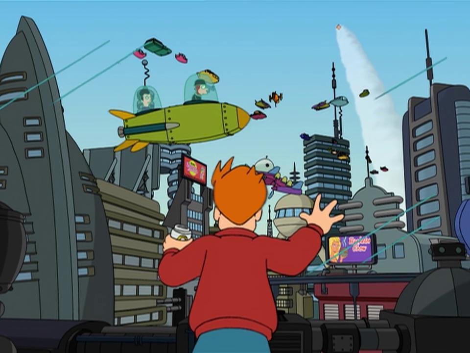 Futurama 1×01 – Piloto espacial 3000