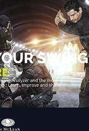 Golf Boost Swing Analysis Poster
