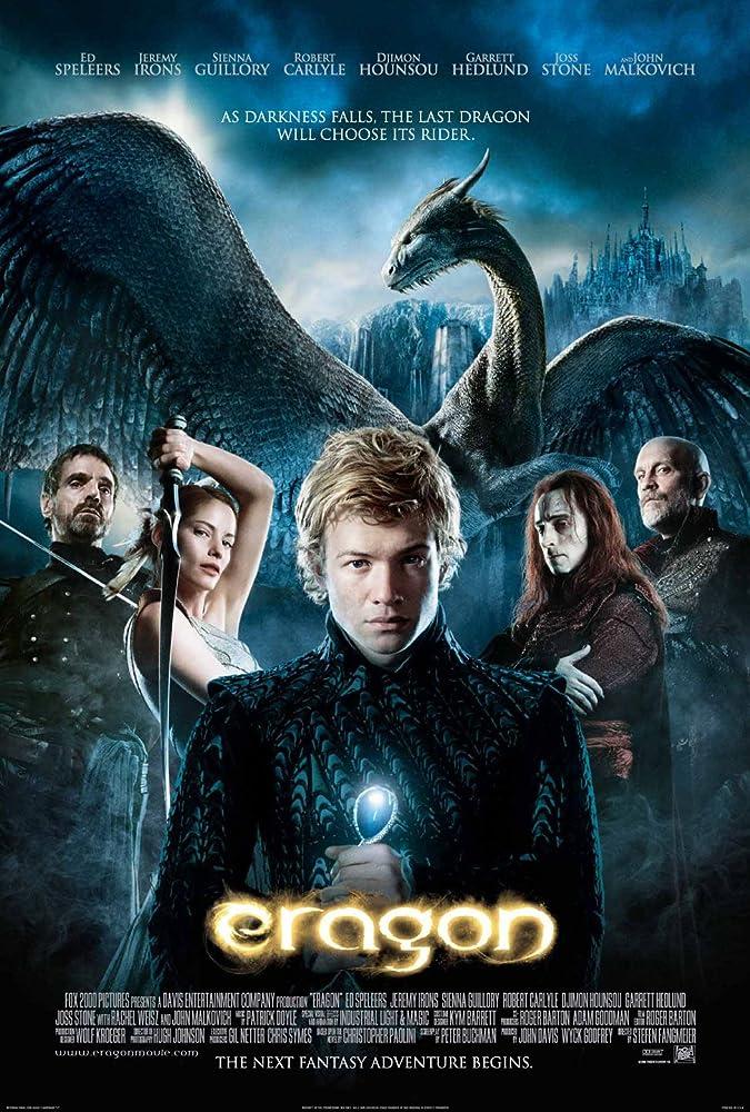 Poster film Eragon (2006).