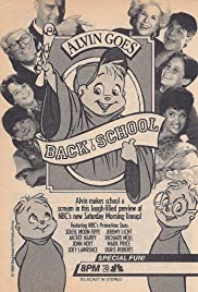 Alvin Goes Back to School Poster