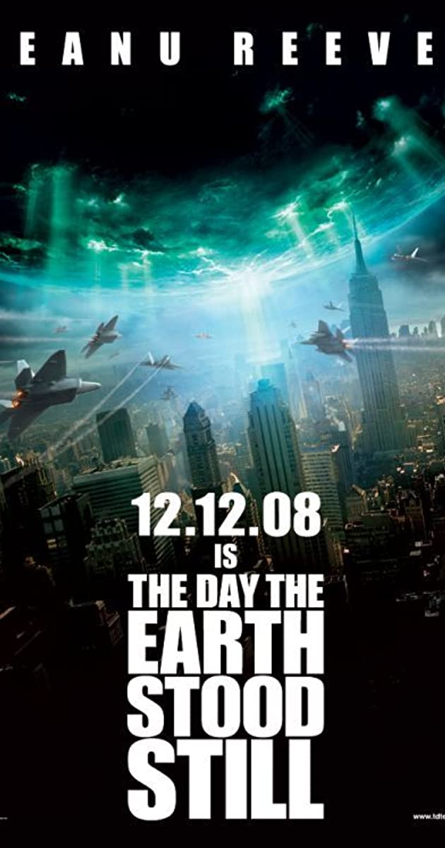 Diena, kai sustojo Žemė / The Day the Earth Stood Still (2008) Online