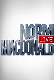Norm Macdonald Live Poster