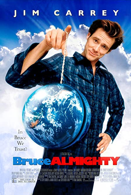 [PG-13] Bruce Almighty (2003) Dual Audio Blu-Ray - 480P | 720P - x264 - 300MB | 950MB - Download & Watch Online  Movie Poster - mlsbd