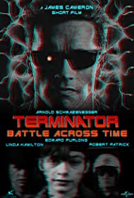 Linda Hamilton, Arnold Schwarzenegger, Edward Furlong, and Robert Patrick in T2 3-D: Battle Across Time (1996)