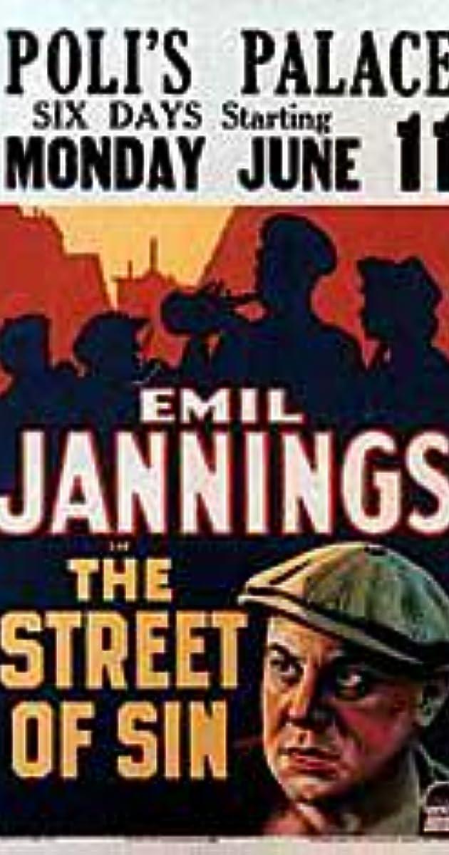 Street of Sin (1928) - Fay Wray as Elizabeth - IMDb