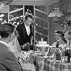 Annie Birgit Garde, Irene Hansen, and Helge Kjærulff-Schmidt in Familiehaven (1956)