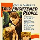 Claudette Colbert, Herbert Marshall, Mary Boland, and William Gargan in Four Frightened People (1934)