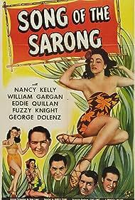 Mariska Aldrich, George Cleveland, William Gargan, Nancy Kelly, Fuzzy Knight, and Eddie Quillan in Song of the Sarong (1945)