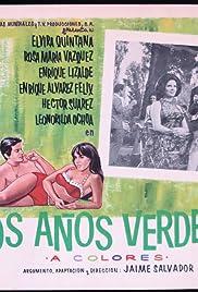 Los años verdes Poster