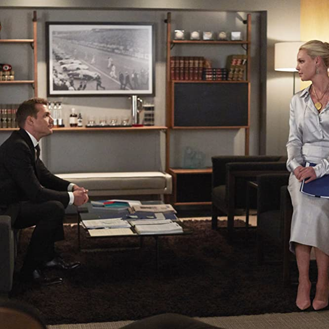 Katherine Heigl and Gabriel Macht in Suits (2011)