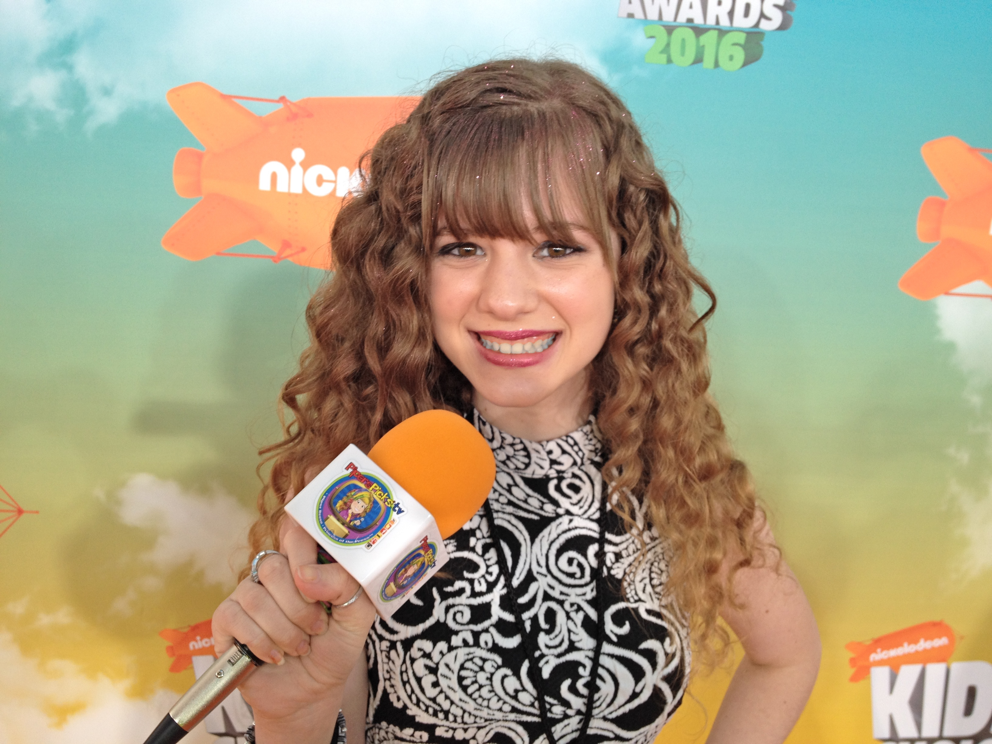 Piper Reese at the 2016 Nickelodeon Kids' Choice Awards