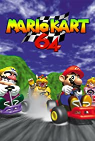 Charles Martinet, Leslie Swan, Asako Haruhana, and Thomas Spindler in Mario Kart 64 (1996)