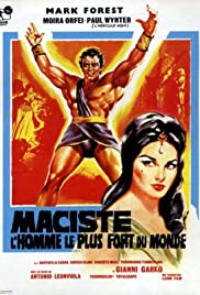 Mole Men Against the Son of Hercules Poster
