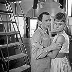 Krzysztof Litwin and Magdalena Zawadzka in Pieczone golabki (1966)