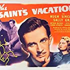 Sally Gray, Cecil Parker, and Hugh Sinclair in The Saint's Vacation (1941)
