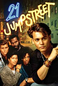 Johnny Depp, Holly Robinson Peete, Peter DeLuise, Dustin Nguyen, and Steven Williams in 21 Jump Street (1987)