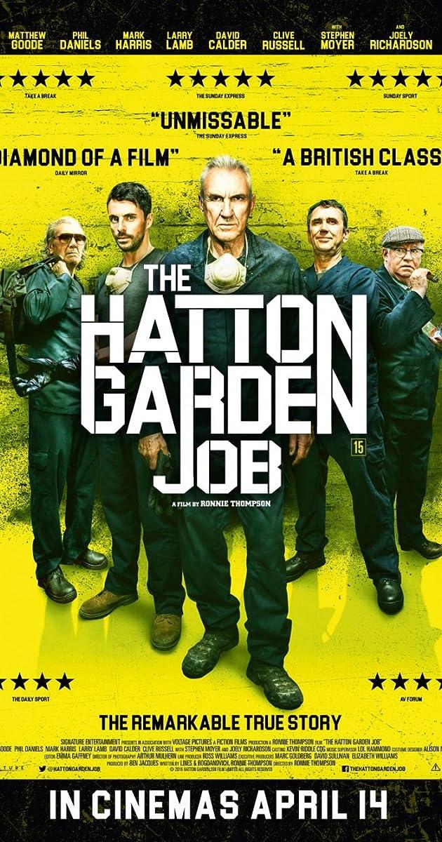 Subtitle of The Hatton Garden Job
