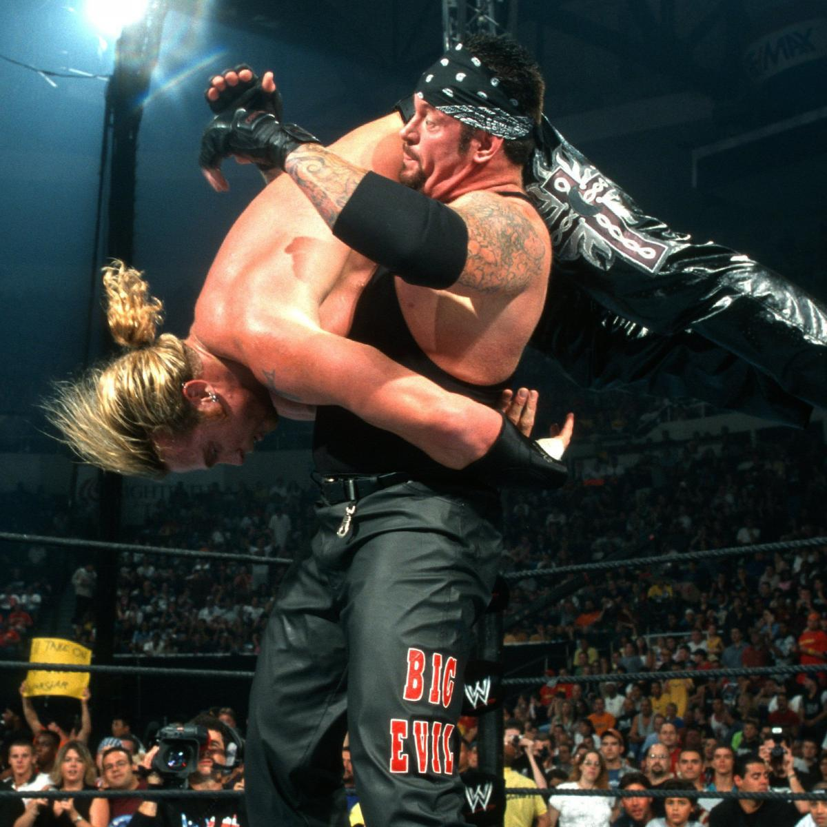 Mark Calaway and Andrew Martin at an event for Summerslam (2002)